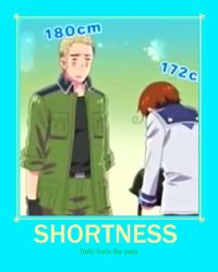 Shortness Feels by NiniIs1