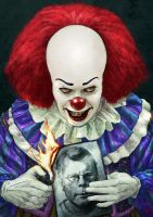 Pennywise by Kid-Eternity