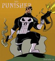 dfridolfs Punisher coloured by tyrannus