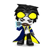 Static Shock Buddypoke by Ben2DJammin