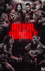 Royal Rumble Poster by sj by Sjstyles316