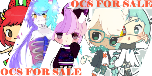 OCS FOR SALE/TRADE (updated) by Byebi