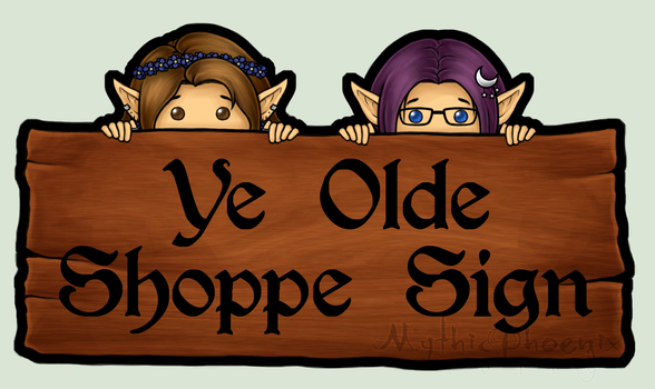 Shop Sign by MythicPhoenix
