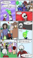 Undertale Green Chapter 3 Page 6 by FlamingReaperComic