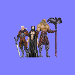 Lords of Shadows sprite by RaghavAT