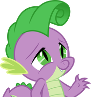 Vector #679 - Spike #20 by DashieSparkle