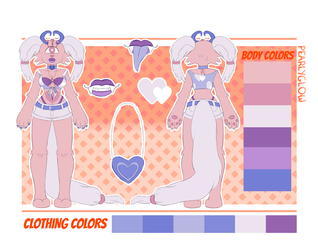 [REFERENCE SHEET] Callie by PearlyGlow