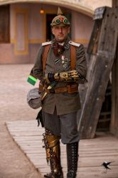 Steampunk Central Powers Officer by PhotosbyRaVen