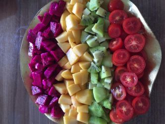 The Delicious Food Fruit Platter by myfirststeem