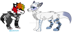 50 point adopt - COLLAB by kinkyytheclown