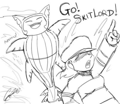 PKMN - GO SKITLORD by caat