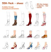 55th pack - shoes by Precia-T