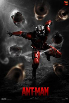 'ANT-MAN' (teaser) poster by AndrewSS7