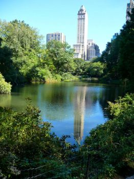 Central Park Pond by TheLifeOfRick