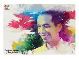 JOKO WIDODO (jokowi)  - GAD'S PHOTO PAINTING by opparudy