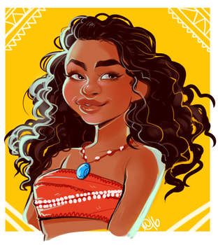 Moana by Mo0gs
