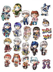 Chibi charms and keychains by ArsenicsamA