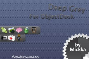 Deep Grey Tabs by Mickka