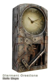 Steampunk Clock XII by Diarment