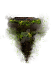 Floating Terrain png - 1 by Sisterslaughter165