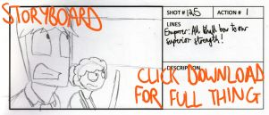 R+R2 March of the Penguins Storyboard - Part Two by timsplosion
