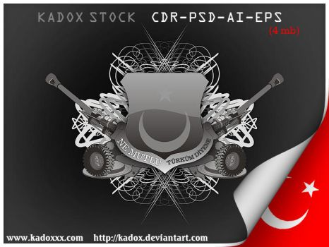 TURK ARMS psd cdr ai eps by kadox
