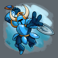 Ultimate Shovel Knight by The-Quill-Warrior