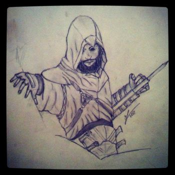 Altair Bearded version :D by george96