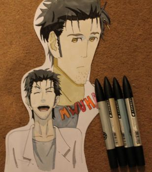 Okabe Letraset Markers by Virtualer