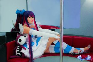 Fly Away Now Panty Stocking Garterbelt cosplay by Angel--Arwen