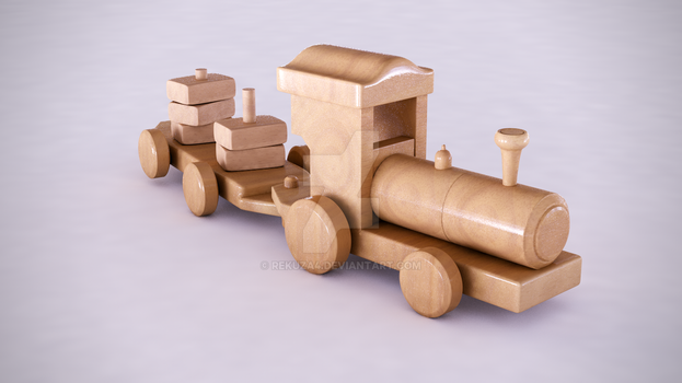 Train Toy by rekuza4