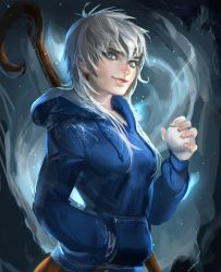 Jackie Frost by sakimichan