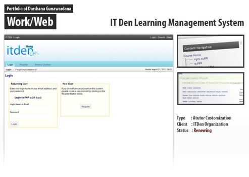 IT Den LMS Theme by darshana4it