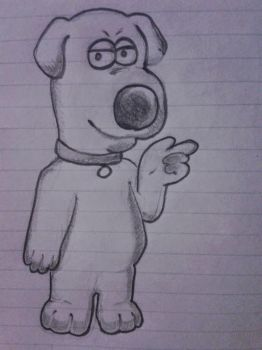 Brian Griffin xD by h0ldm4litfupny