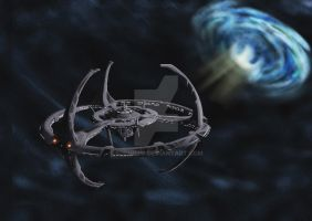 At the edge... +ds9+ by SophiePf