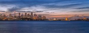 Sydney Sunset by TarJakArt