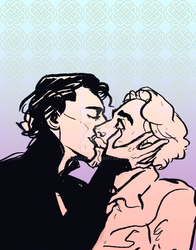 I have to practice drawing kissing people by Ohdotar