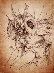 Diablo I sketch by OniChild