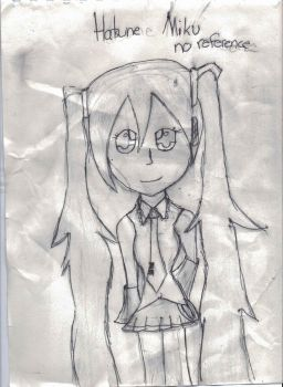 Hatsune Miku by Lily-the-Vocaloid