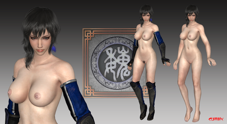 Wang Yi (DW9) Nude Mod For XPS by cunihinx