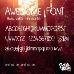 Bobsmade handwrite Font by Bobsmade