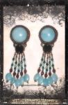 Amazonite Earrings by GoodQuillHunting