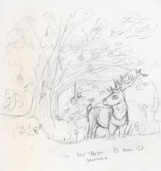 Daily Sketch - Lost Thicket by Starrydance