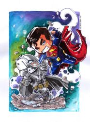 Batman vs Superman by Dve6