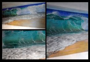 wave murual by Nelsonito