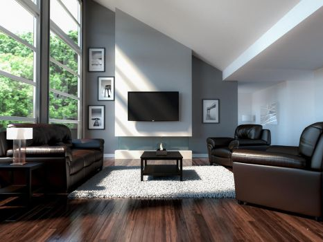 Living Room by GabrielAuger