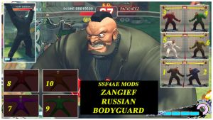 Zangief russian bodyguard (Reupload) by DJ7493
