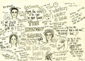 Hunger Games moments by EowynLaurelin