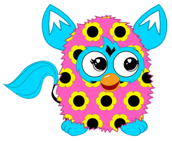 Flower Pattern Furby Boom by FFGOfficial