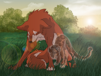 Please don't cry mama by DawnFrost